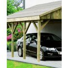 BONN  traditional lean-to single carport