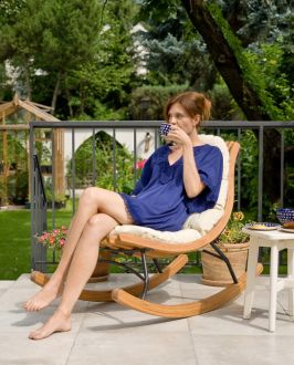 Meltemi Short Rocking Lounger