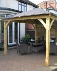 Cotswold Canopy with Venetian Shutter Panel