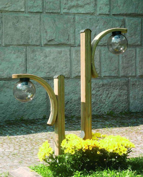Arcade garden lamp