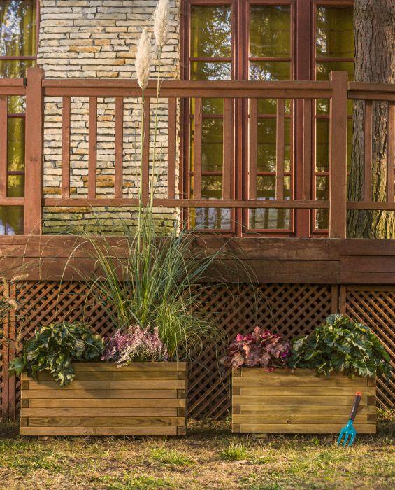 Royal Rectangular Planter  8 layers