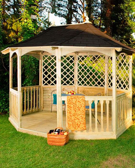 Winchester Tiled Pavilion Gazebo
