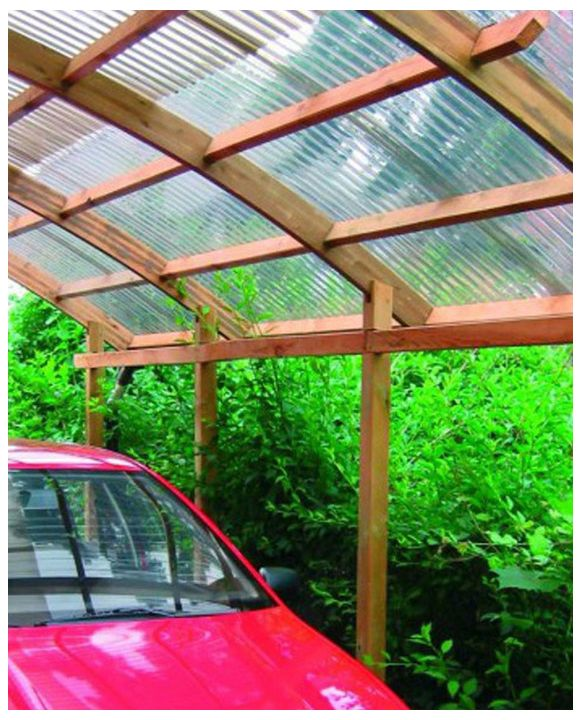 Conwy Single Carport
