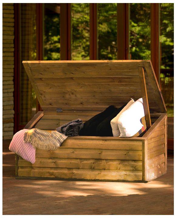 Garden chest - storage box for tools